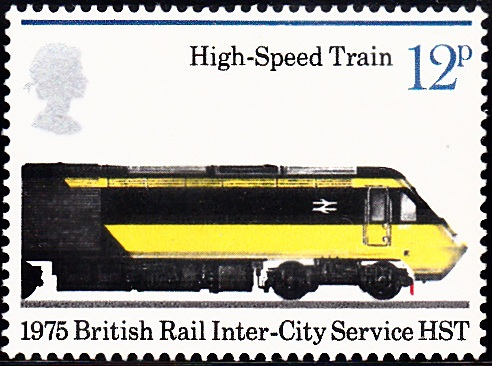 752 High-Speed Train, 1975 [England Stamp 1975]