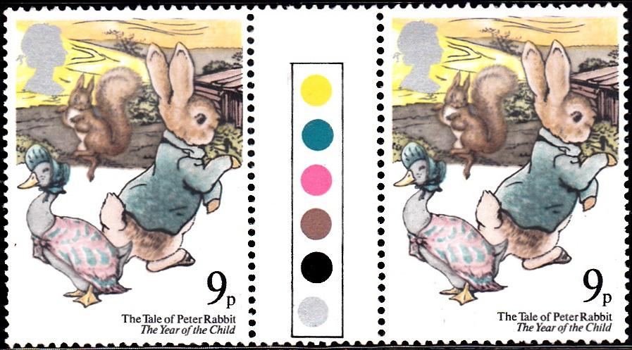 867 Peter Rabbit [England Stamp 1979]