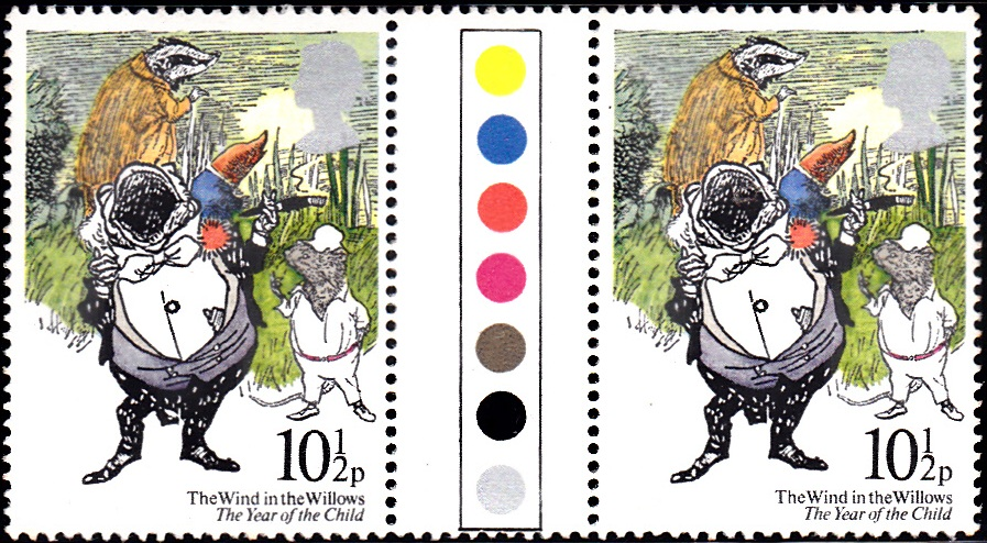 868 The Wind in the Willows [England Stamp 1979]