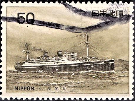 The Queen of the Pacific : first large sized dieselized passenger ship of Japan