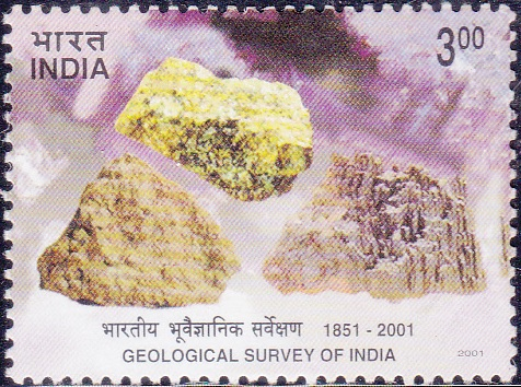 1825 Geological Survey of India [India Stamp 2001]