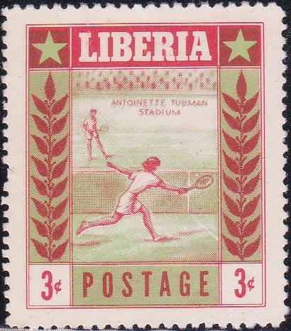 347 Tennis [Liberia Stamp 1955]