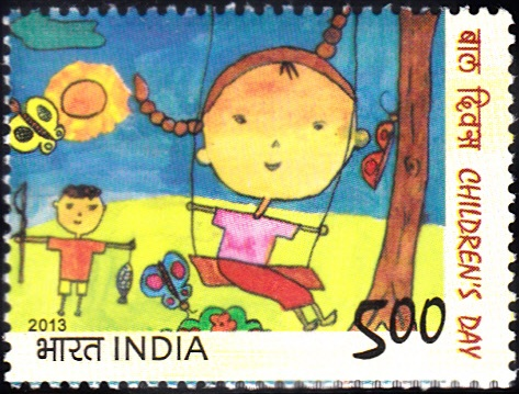 Children's Day [India Stamp 2013]