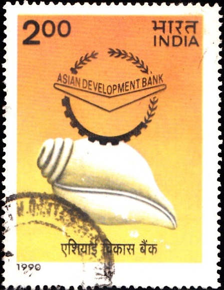 Indian Conch Shell & Logo of ADB