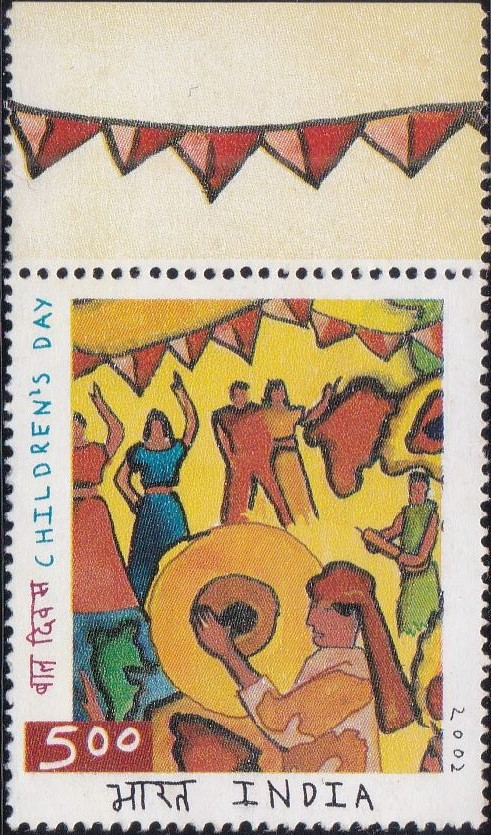 1933 Children's Day [India Stamp 2002]