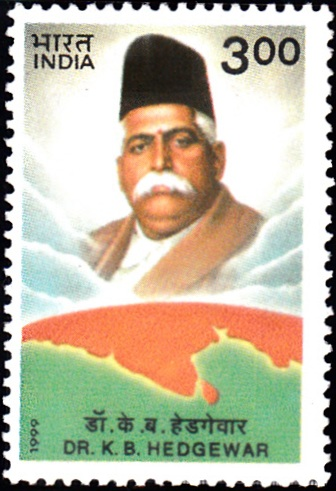 1679 Dr. K. B. Hedgewar [India Stamp 1999]