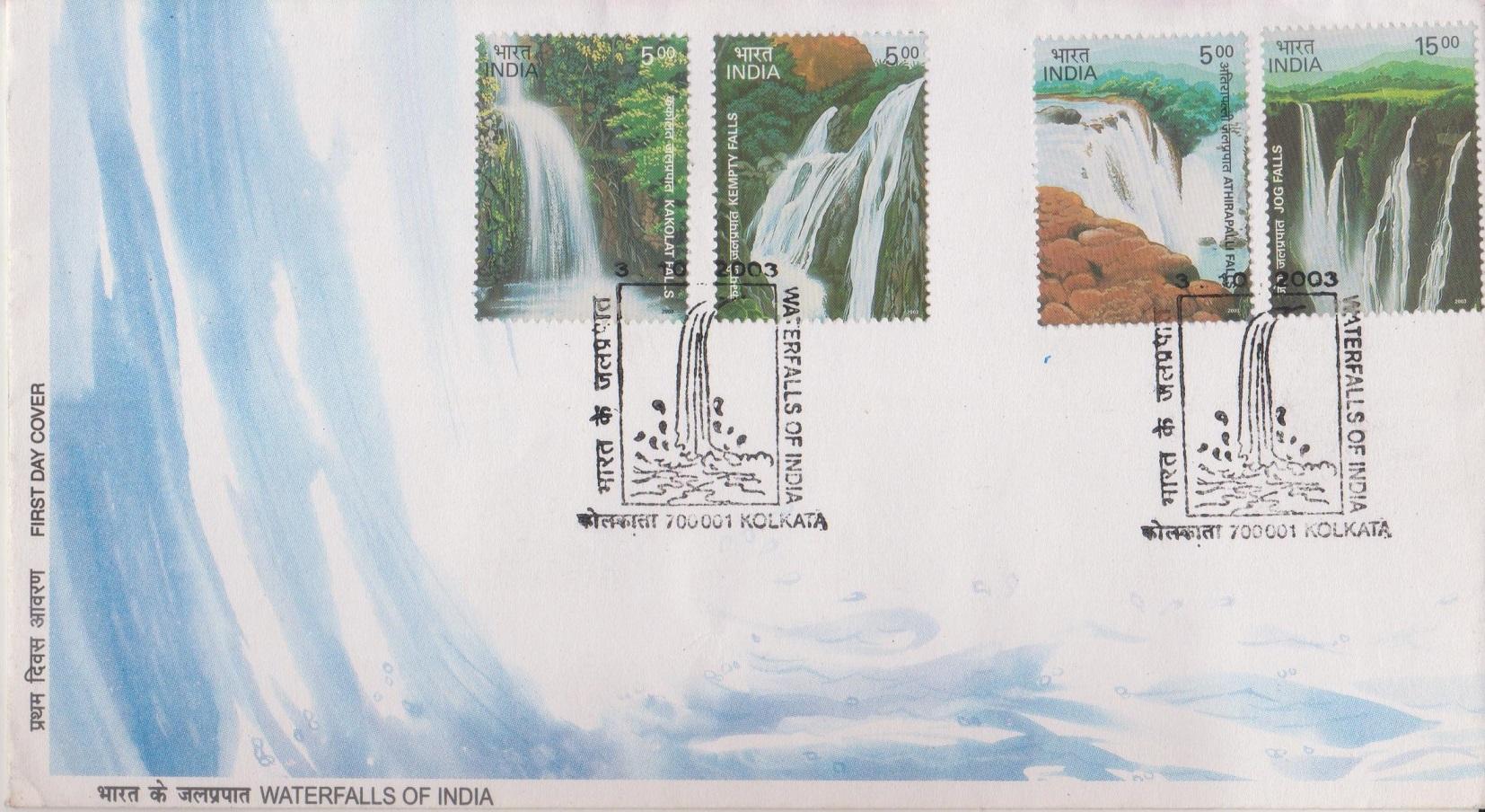 Athirappilly (Niagara of India),Gersoppa,Kempty &Kakolat (Land of Rishi Muni) falls