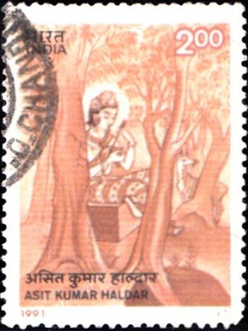 অসিত কুমার হালদার : Indian painter of Bengal school