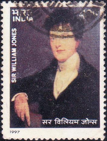 1565 Sir William Jones [India Stamp 1997]