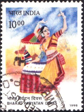 भारतीय पर्यटन दिवस, Dancing Girl & Elephant