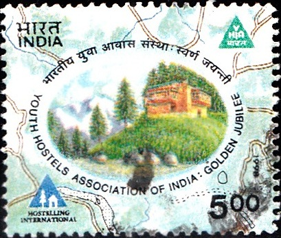 1642 Youth Hostels Association of India [India Stamp 1998]
