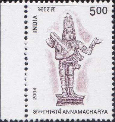2040 Annamacharya [India Stamp 2004]