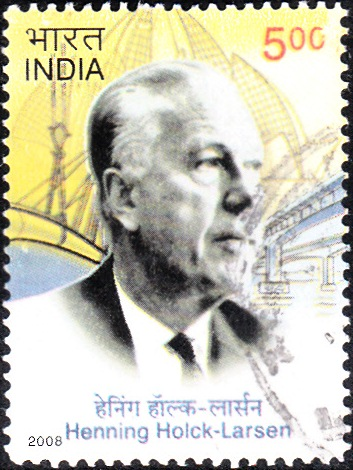 2359 Henning Holck-Larsen [India Stamp 2008]