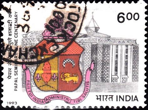Papal Seminary Emblem and Building