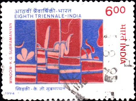 1406 Eighth Triennale [India Stamp 1994]
