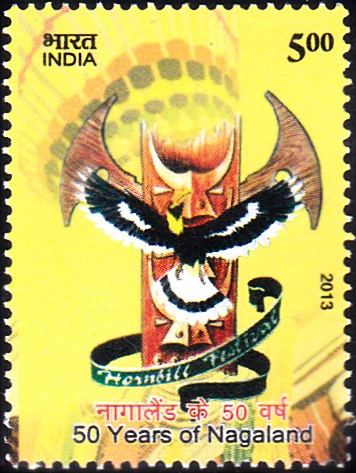 50 Years of Nagaland [India Stamp 2013]
