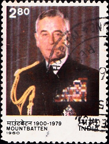 826 Mountbatten [India Stamp 1980]