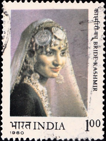 842 Bride-Kashmir [India Stamp 1980]