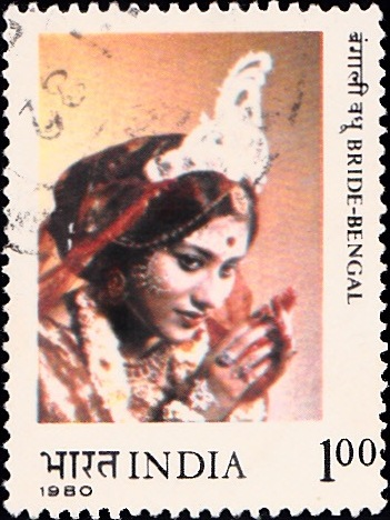 843 Bride-Bengal [India Stamp 1980]