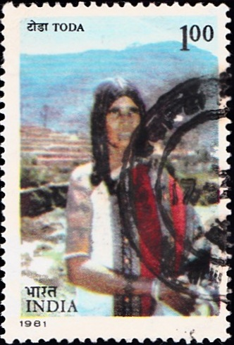 853 Toda-Tribe [India Stamp 1981]