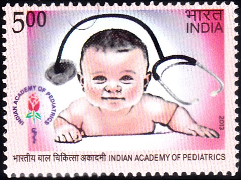 Indian Academy of Pediatrics [India Stamp 2013]