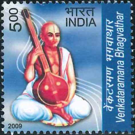 2565 Venkataramana Bhagvathar [India Stamp 2009]