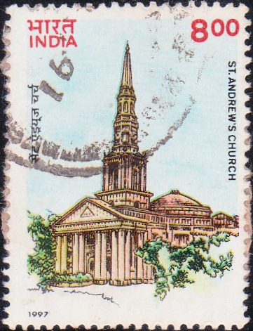 1526 St. Andrews Church [India Stamp 1997]