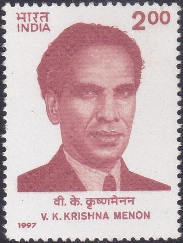 V.K. Krishna Menon (Indian Defence Minister)