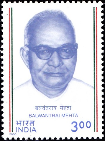 Balwantrai Mehta India