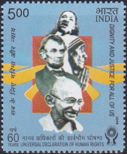 2422 Universal Declaration of Human Rights [India Stamp 2008]