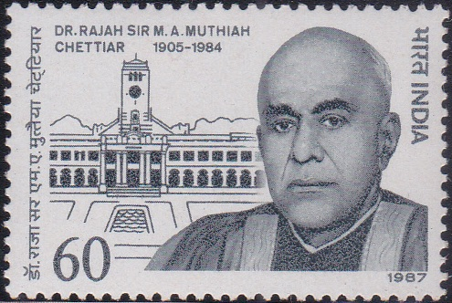 M. A. Muthiah Chettiar, Mayor of Madras (1933)