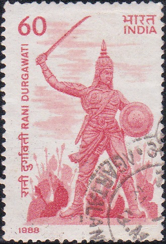 रानी दुर्गावती, Queen of Gondwana (1550-64)
