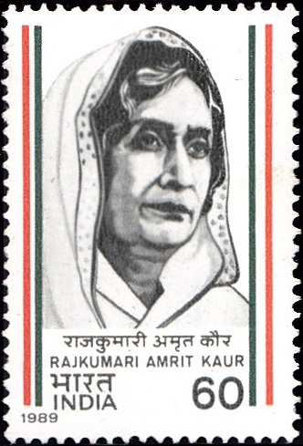 1179 Rajkumari Amrit Kaur [India Stamp 1989]