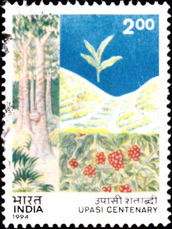1407 UPASI Centenary [India Stamp 1994]