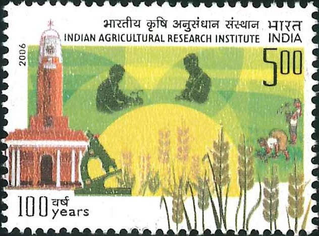 2181 Indian Agricultural Research Institute [India Stamp 2006]
