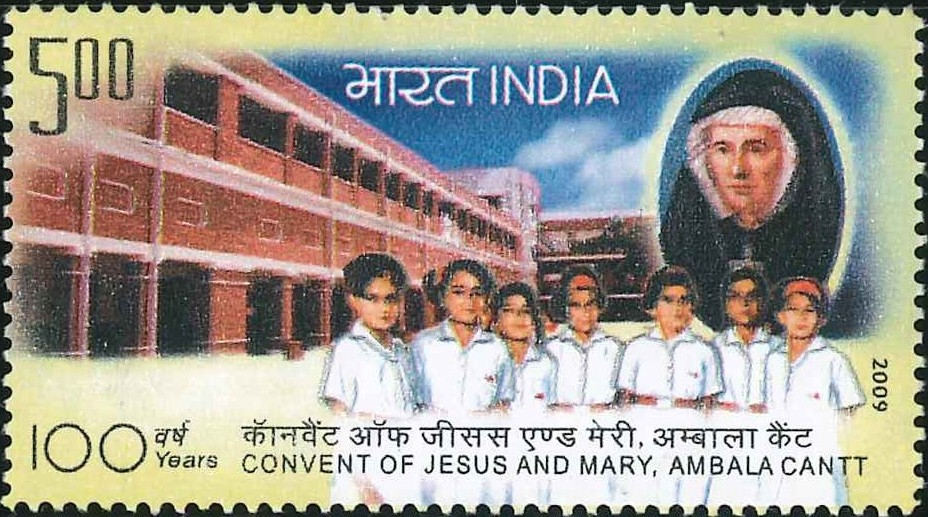 2550 Convent of Jesus & Mary, Ambala Cantt [India Stamp 2009]