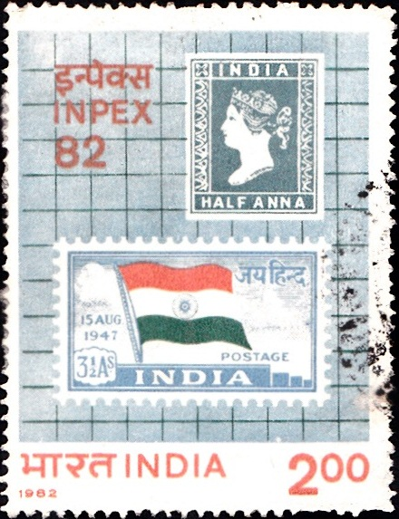 First Stamps of Pre and Post Independent India