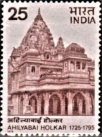 Chhatri at Maheshwar : Hindu temple (Madhya Pradesh)