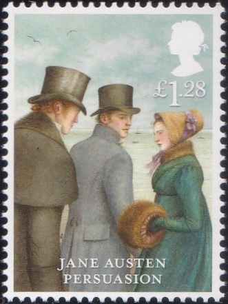 6. Jane Austen - Persuasion [England Stamp 2013]