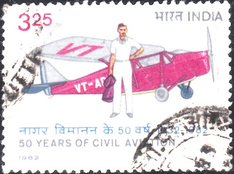 JRD Tata and de Havilland Puss Moth : Karachi to Bombay in 1932