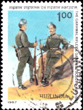 Garhwal Rifles Uniforms of 1887
