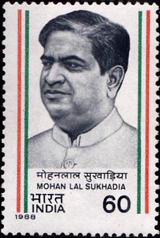 मोहन लाल सुखाड़िया, Founder of modern Rajasthan