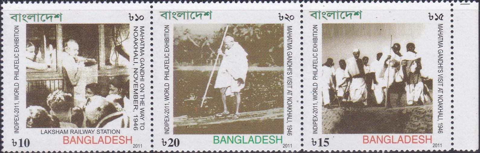mahatma-gandhis-visit-at-noakhali-1946-bangladesh-setenant-stamps-2013
