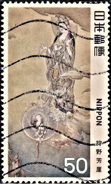 Hibo Kannon : Avalokiteshvara (अवलोकितेश्वर) : Padmapani