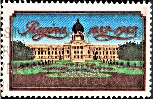 Capital of Canadian province of Saskatchewan (Legislative Building)