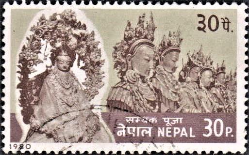 Dipankara Buddha (सम्यक) : Newar Vajrayana Buddhism