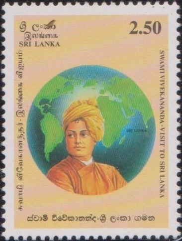 1174-swami-vivekananda-visit-to-sri-lanka-stamp-1997