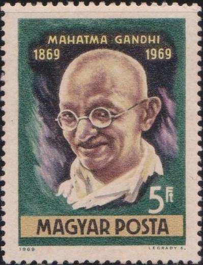 2005-mahatma-gandhi-hungary-stamp-1969
