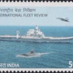 India on International Fleet Review 2016
