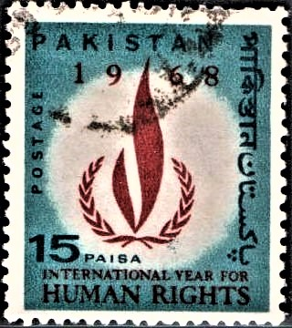 International Year of Human Rights Emblem